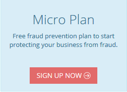 FraudLabs Pro Sign Up