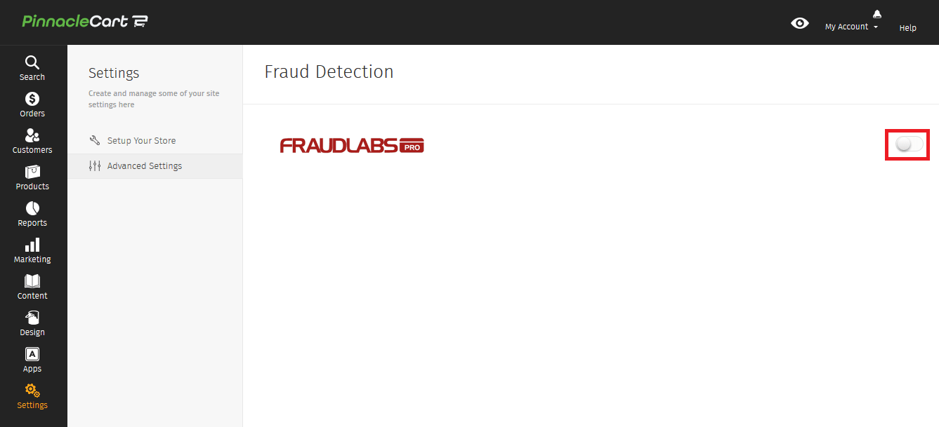 Enable Fraud Detection