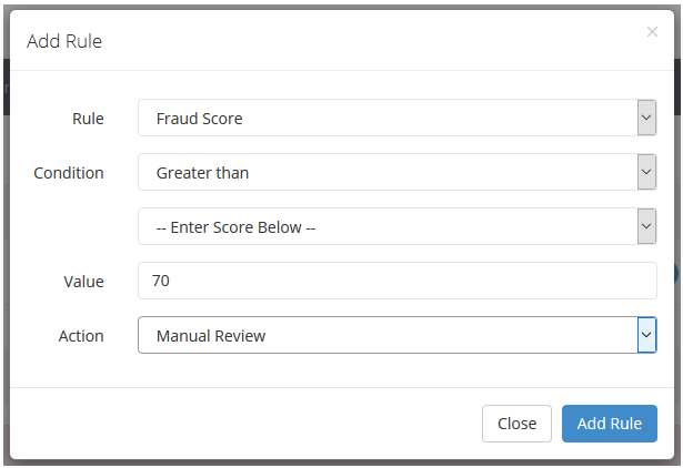 Review a fraud order
