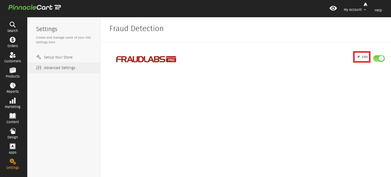 Edit Fraud Detection