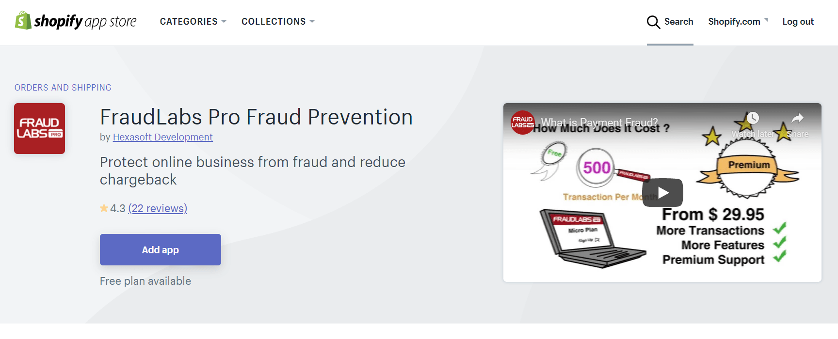 Install Fraud Detection Module
